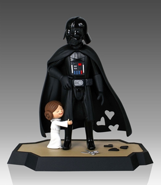 Darth Vaders Little Princess Maquette