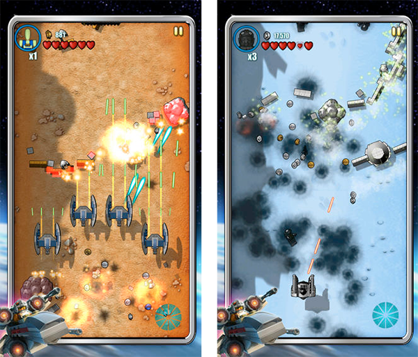 Lego Microfighters iOS Screenshot