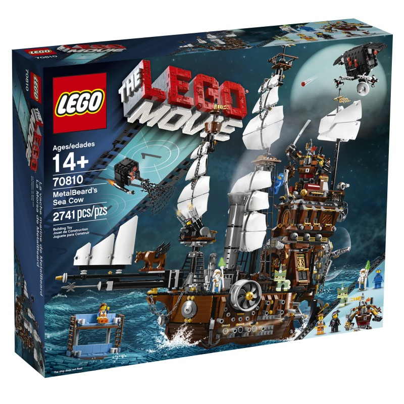 70810 Metal Beard's Sea Cow Box