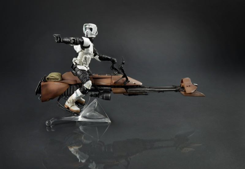 Black Series Scout Trooper Speederbike