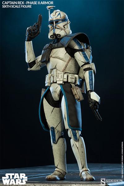 Sideshow Captain Rex Phase II Armor