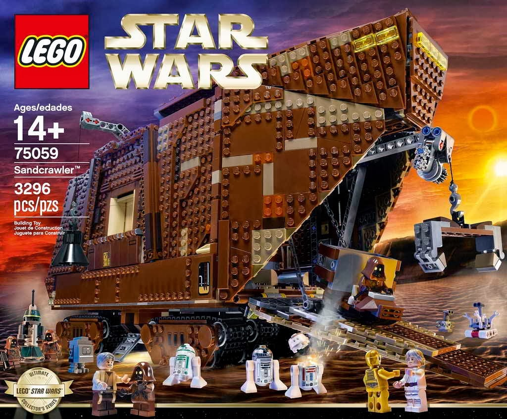 Lego 75059 Sandcrawler
