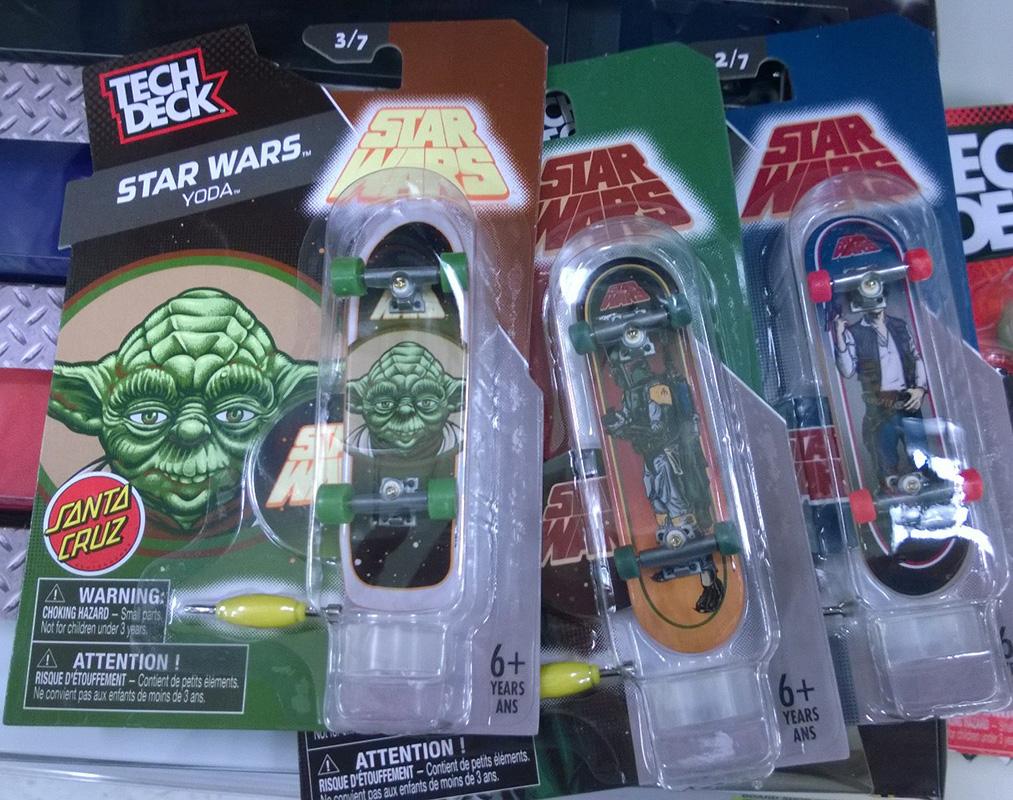 Tech Deck Star Wars Boards