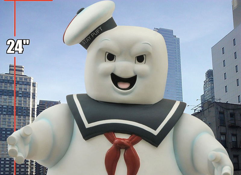 Evil Stay Puft Marshmallow Man