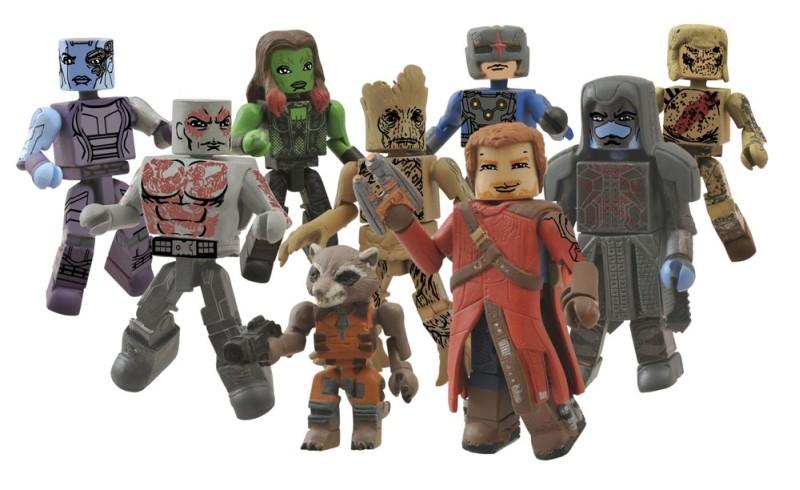 Guardians of the Galaxy Minimates