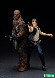 Kotobukiya - Han and Chewbacca