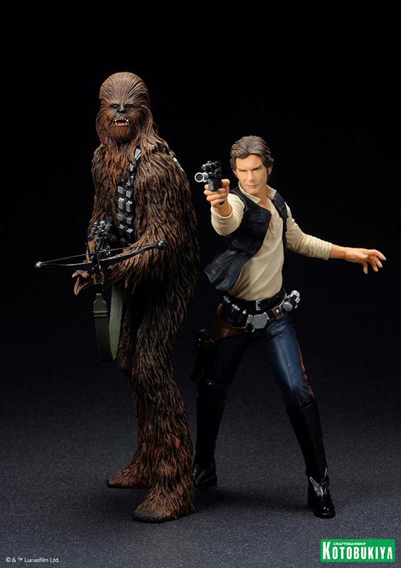 Kotobukiya - Han and Chewbacca