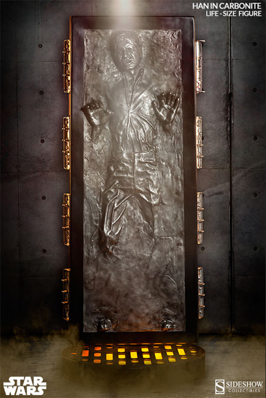 Sideshow life-size Han in Carbonite