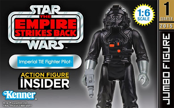 Gentle Giant Jumbo TIE Fighter Pilot