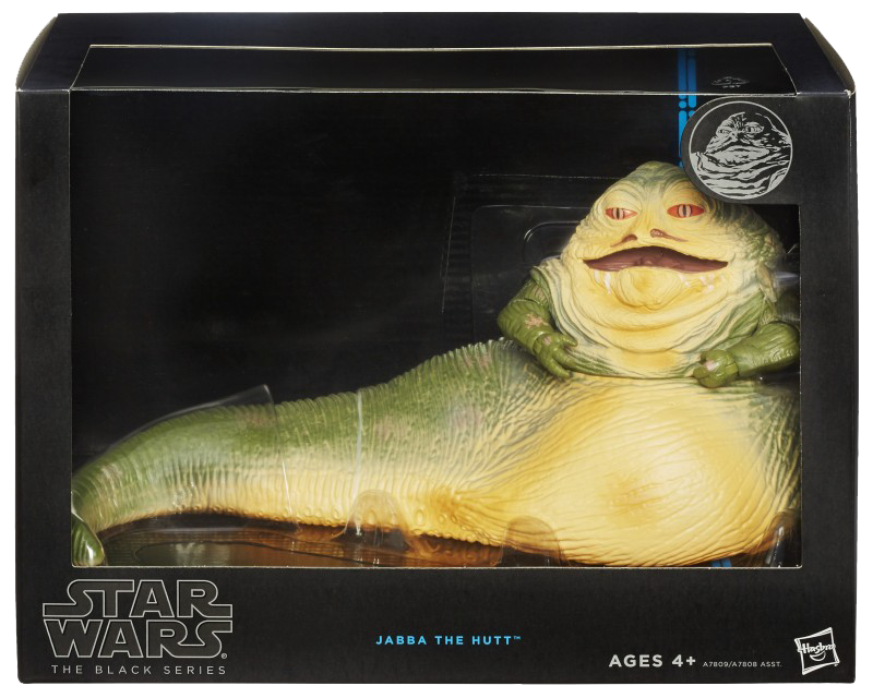 Black Series Deluxe Jabba the Hutt Boxed