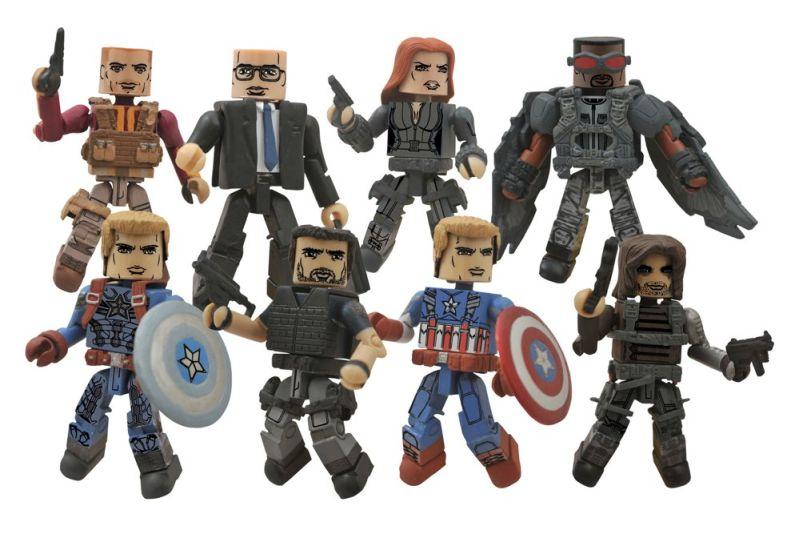 Captain America WS Minimates - Series55