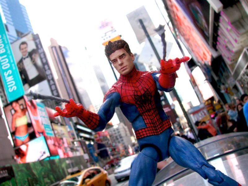 Marvel Select Amazing Spider-Man Unmasked