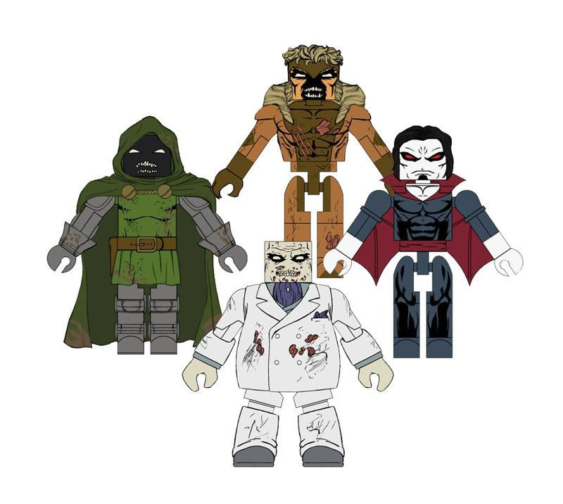 Marvel Zombies Minimates Set 2