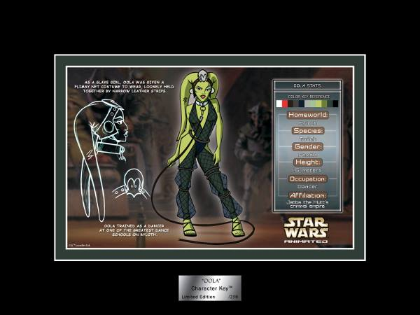 Acme Archives Oola Character Key SDCC