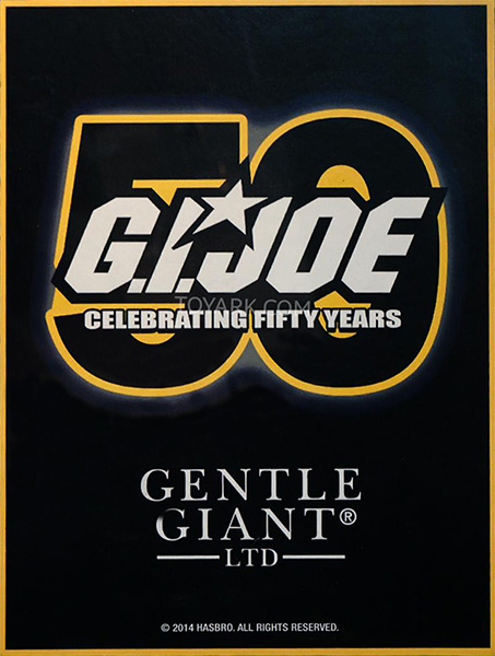Gentle Giant 50th GI Joe Logo