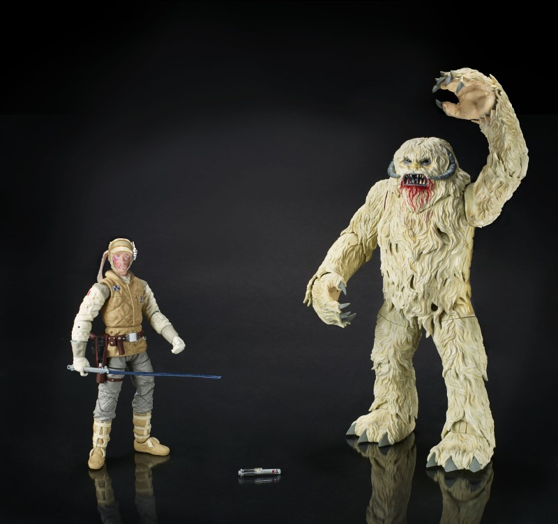 Hasbro Black Series 6-inch Luke and Wampa