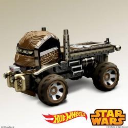 Hot Wheels Chewbacca Character Car