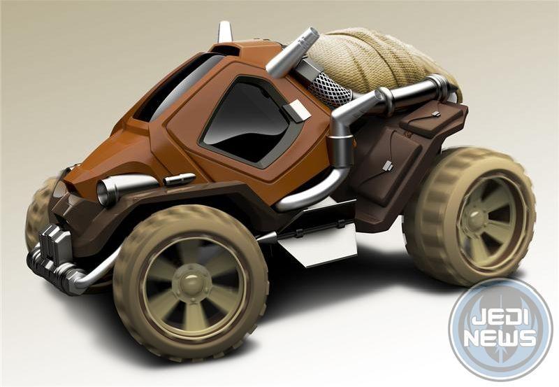 Hot Wheels Tusken Raider Character Car