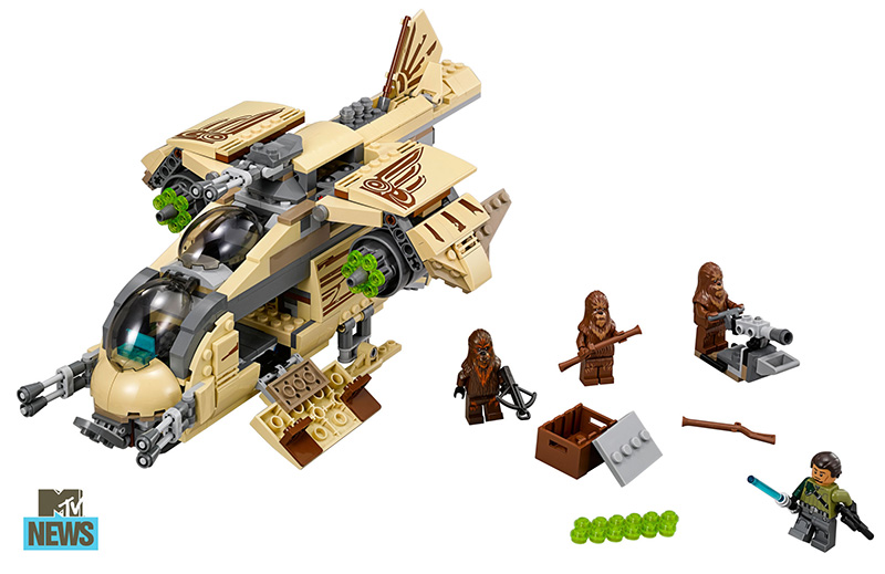 Lego 75084 Wookiee Gunship