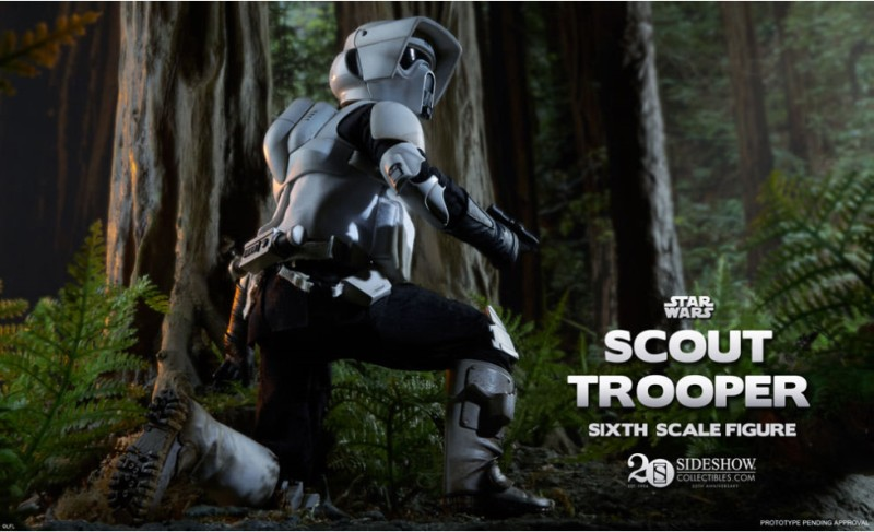 Sideshow Scout Trooper Teaser
