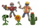 Plants v Zombies Minimates