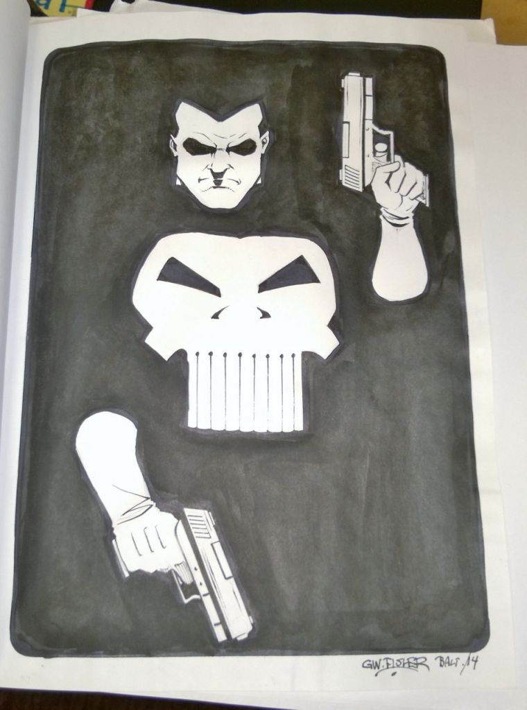 GW Fisher - Punisher Artwork