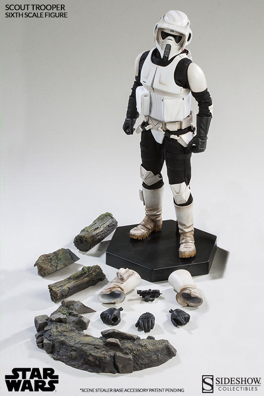 Sideshow Scout Trooper