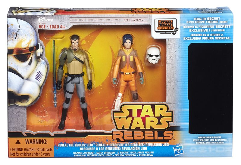 Star Wars Rebels 3-Pack Exclusive Packaged