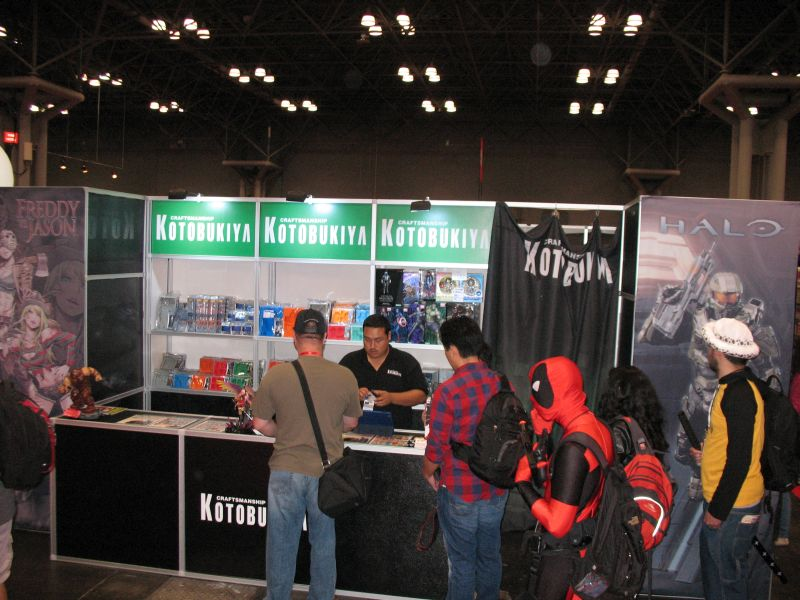 New York Comic Con Kotobukiya Booth