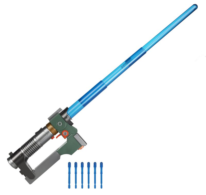 Rebels Ezra Bridger Lightsaber Blaster
