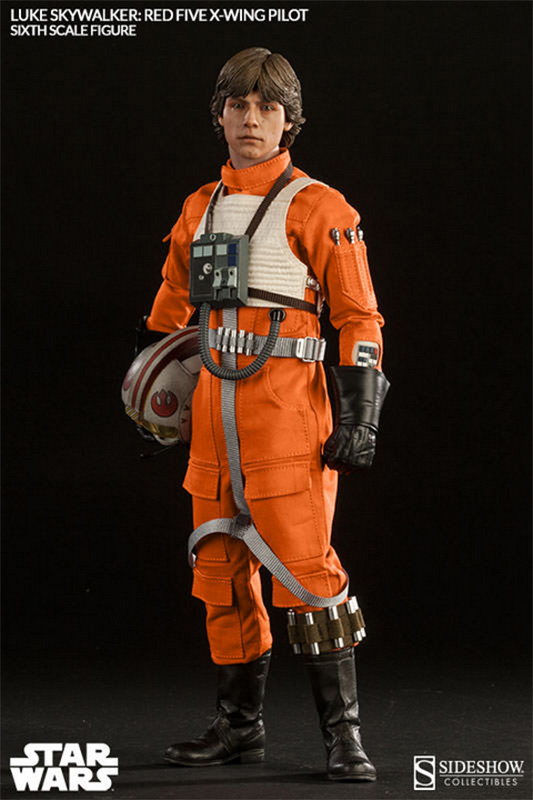 Sideshow Luke Skywalker Red Five