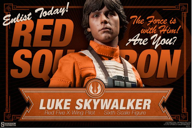 Sideshow Luke Skywalker X-Wing