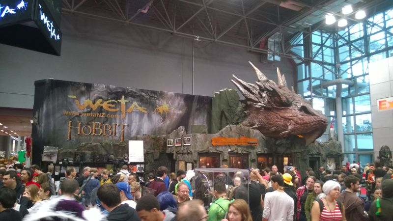 New York Comic Con Weta Booth