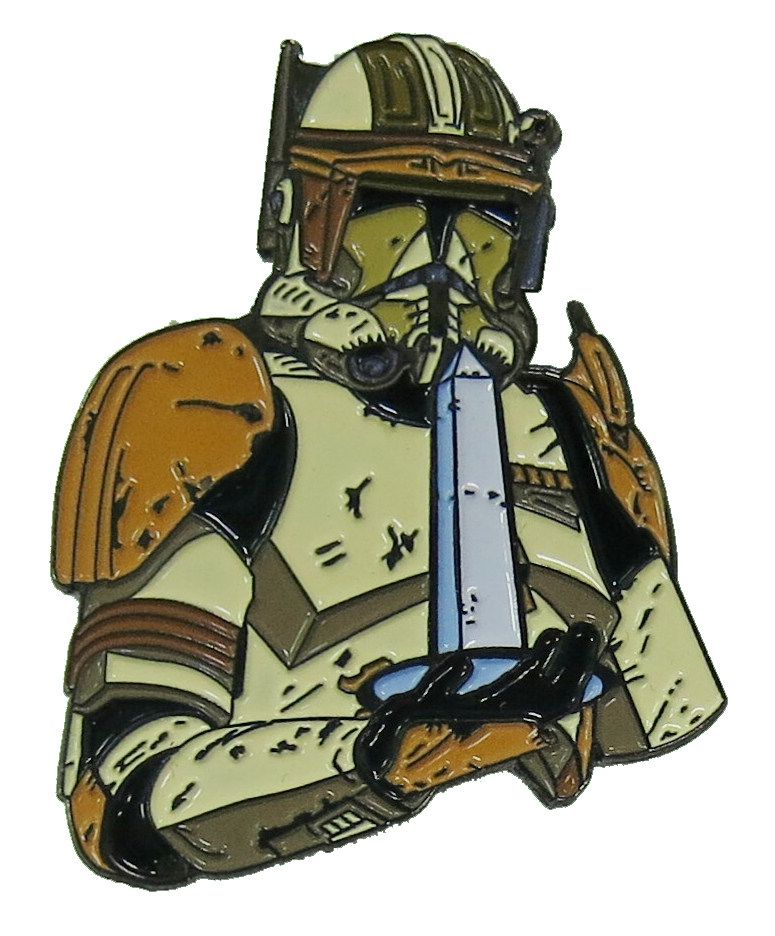 DCSWCC 2014 Commander Cody Pin