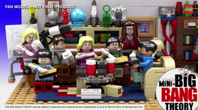 Lego Big Bang Theory