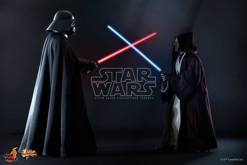Hot Toys Darth Vader Obi-Wan Preview