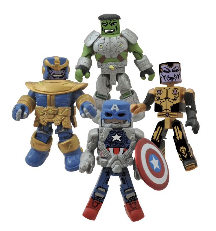 Infinity Minimates Set