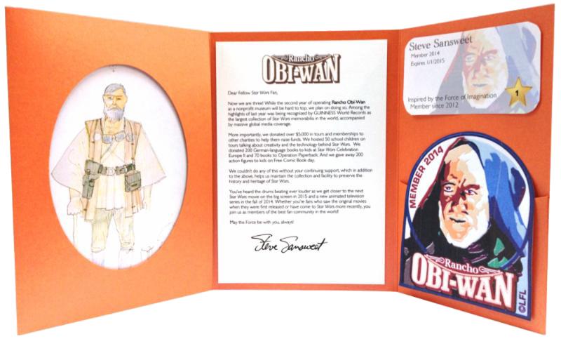 Rancho Obi-Wan Membership Kit 2014