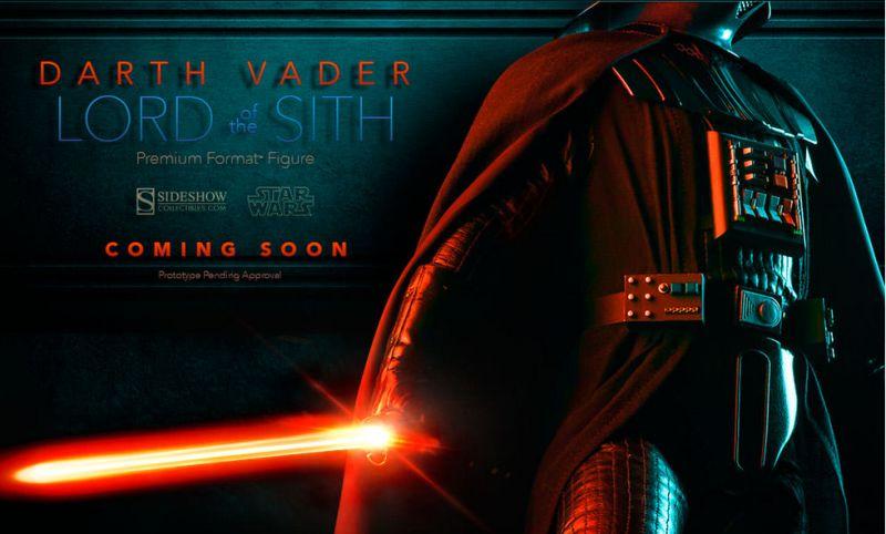 Sideshow Premium Format Darth Vader Teaser