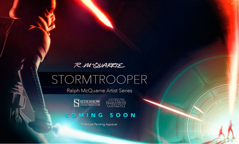 Sideshow RMQ Stormtrooper Teaser
