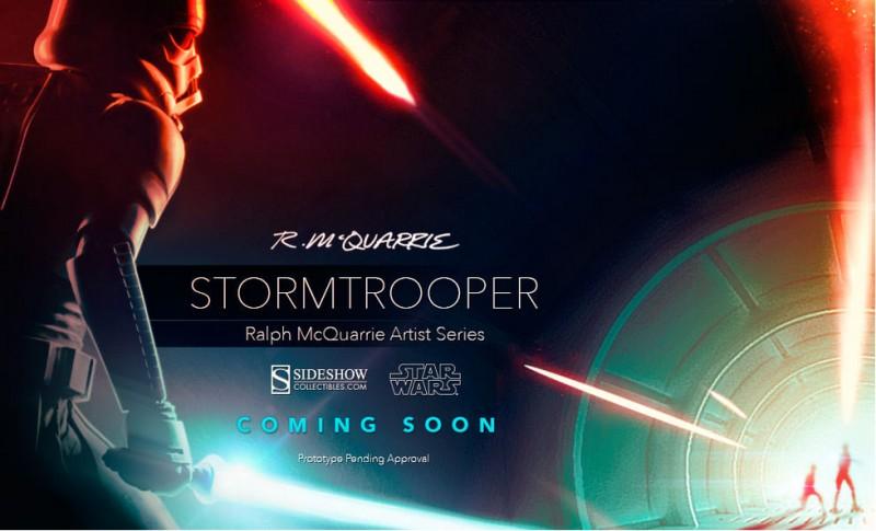 Sideshow RMQ Stormtrooper Teaser