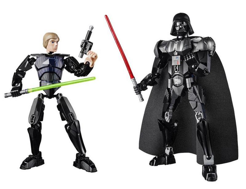 Lego Buildable Figures Luke Vader