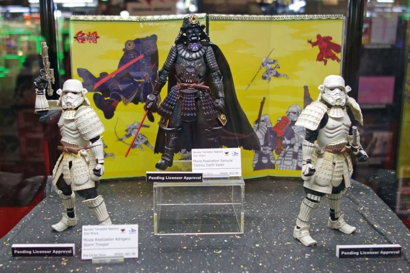 Tamashii Nations Star Wars Toy Fair 2015