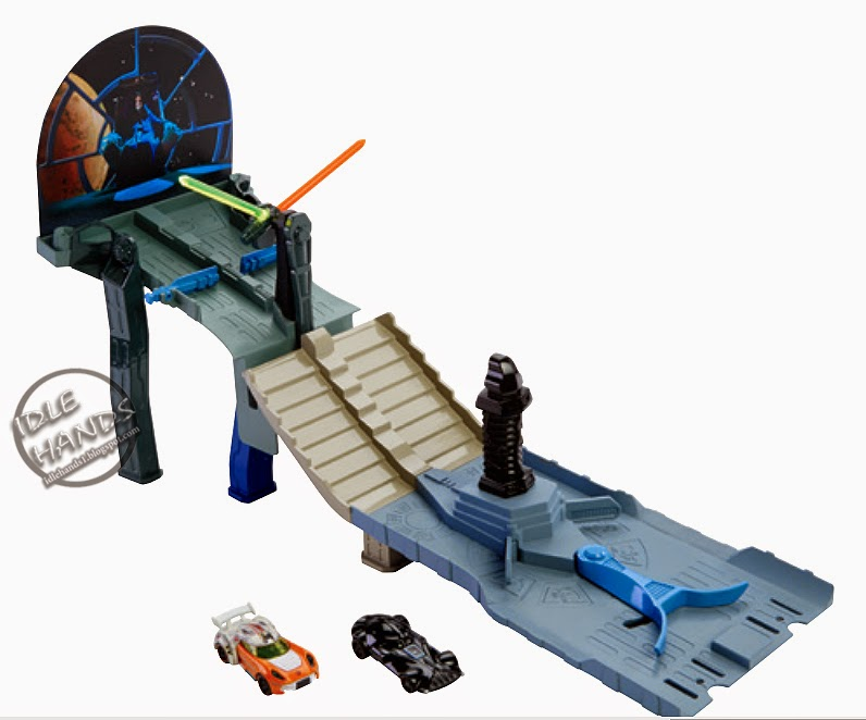 Toy Fair 2015 Mattel Hot Wheels Star Wars Character Car Track Set
