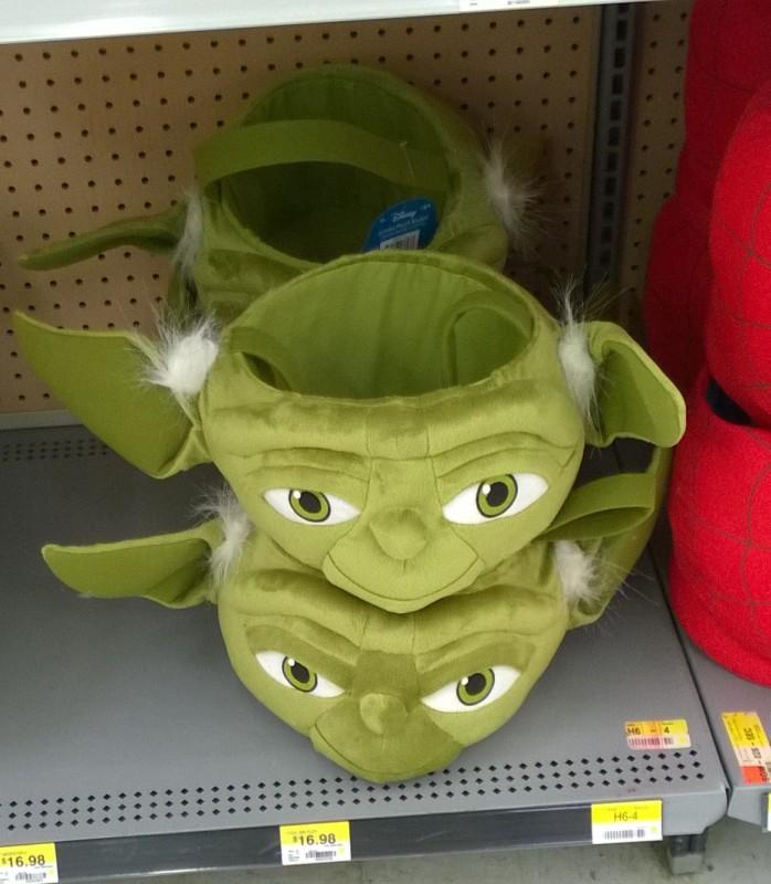 Walmart Yoda Easter Basket