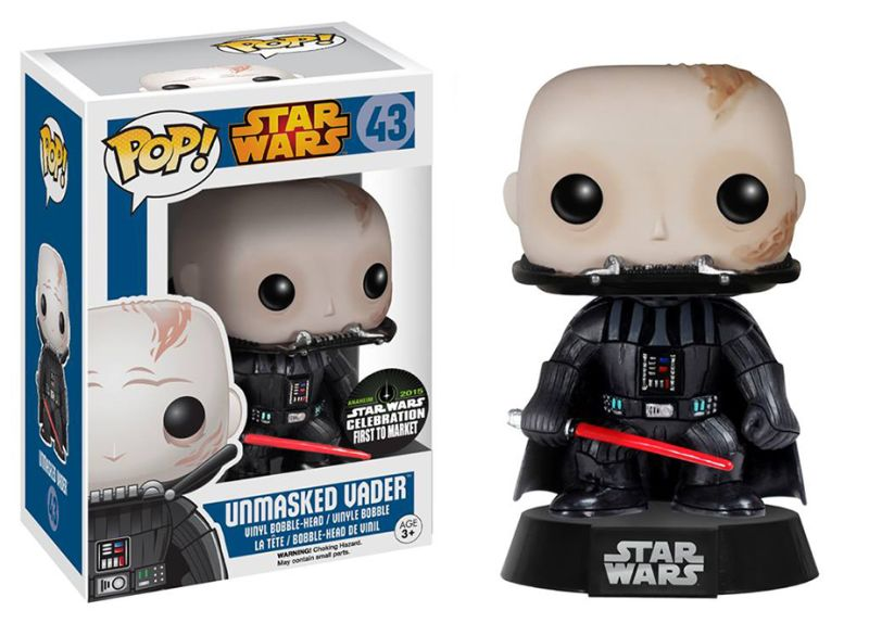 Funko Unmasked Vader