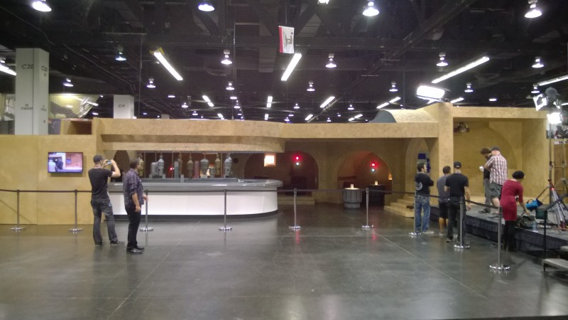 Cantina and Photo Op Dioramas SWCA