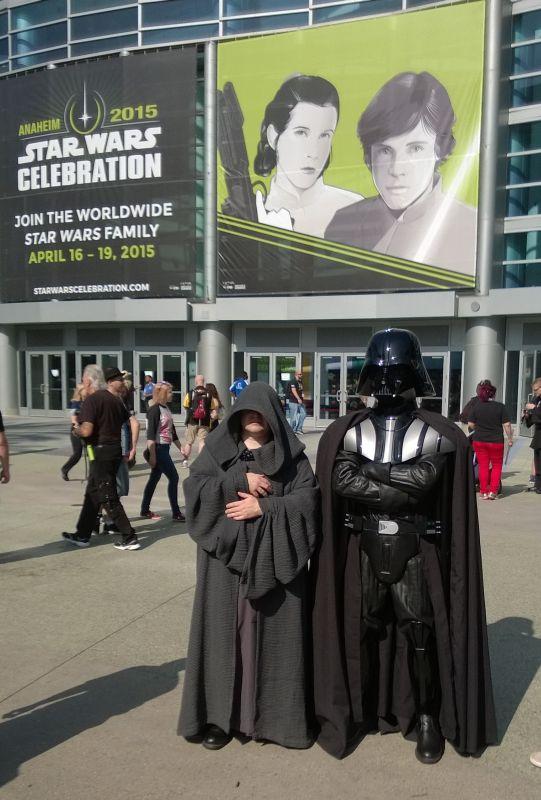 Emperor and Darth Vader