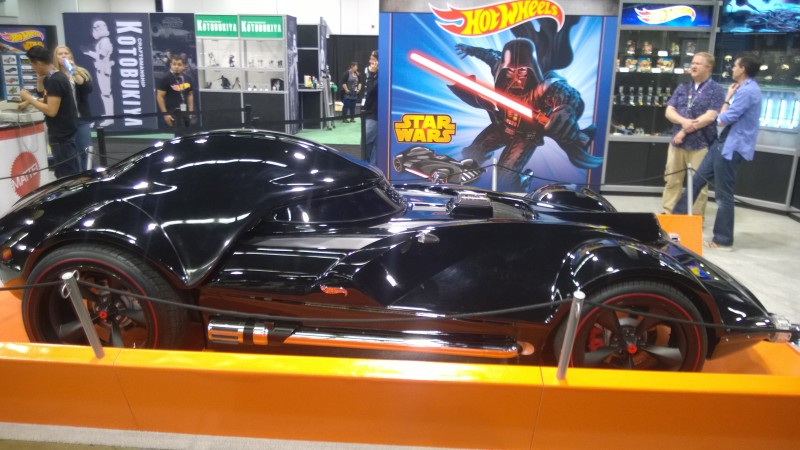 Hot Wheels Booth Darth Vader Character Car