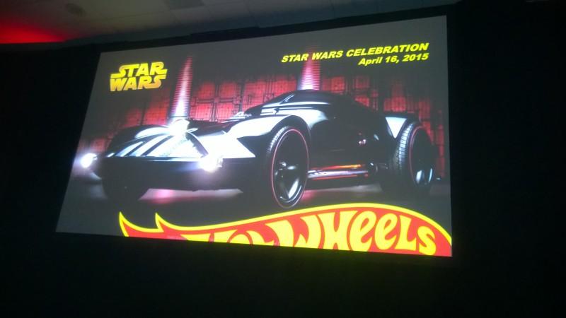 Hot Wheels Panel Darth Vader Car
